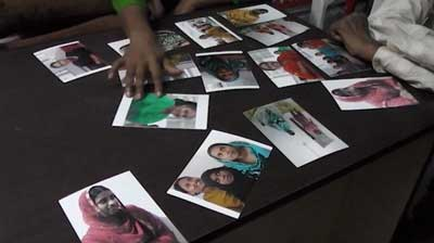 still: photos of workers from Rana Plaza