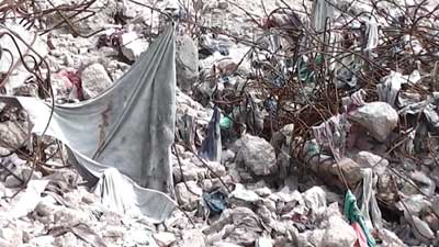 Rana Plaza after collapse